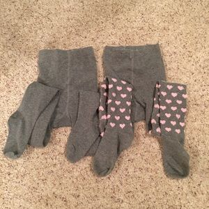 2 Bundle Leggings For 6 to 8 years old girls